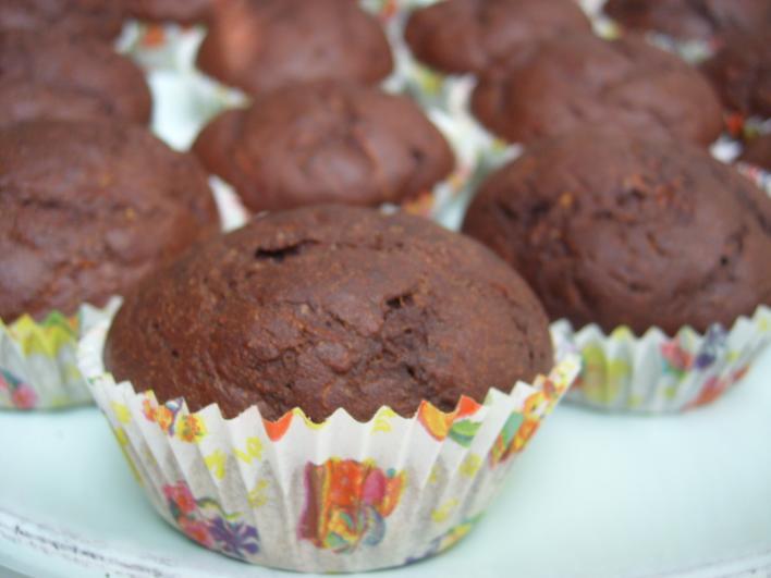 Csoda-csokis muffin