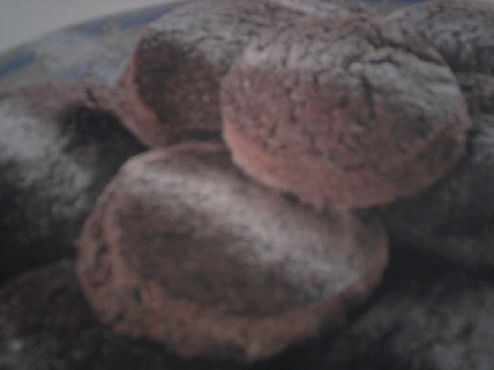 Omlós csokoládés keksz
