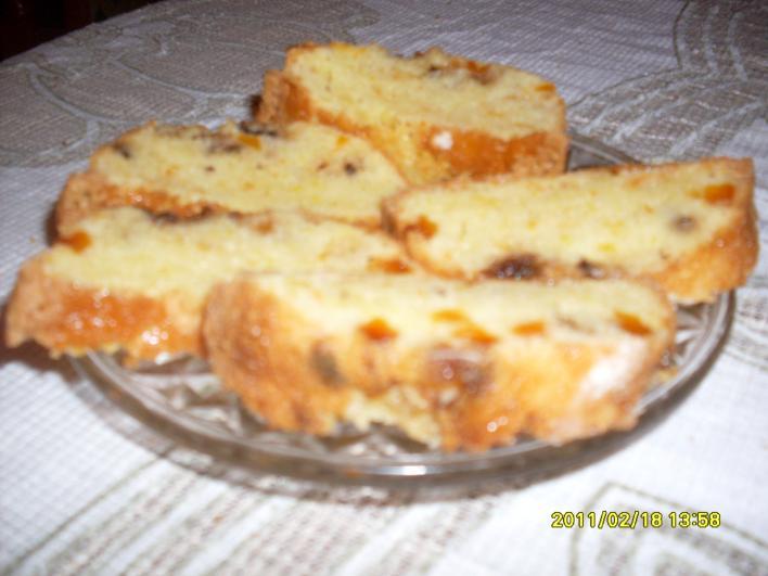 Narancsos süti