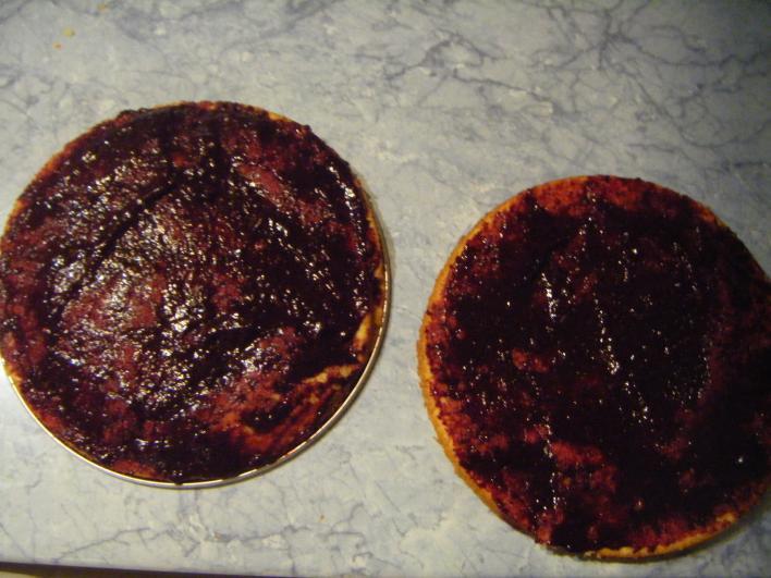 Narancsos-mandulás torta