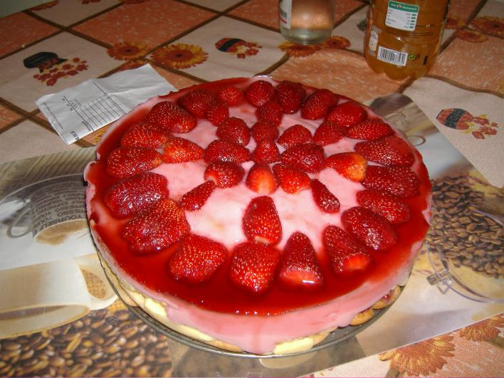 Epres torta Anzsi módra