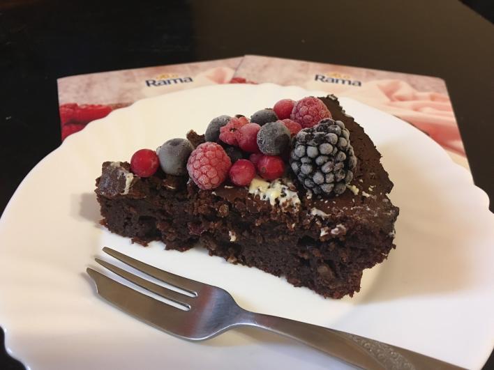 Laktóz- és lisztmentes csokoládés brownie