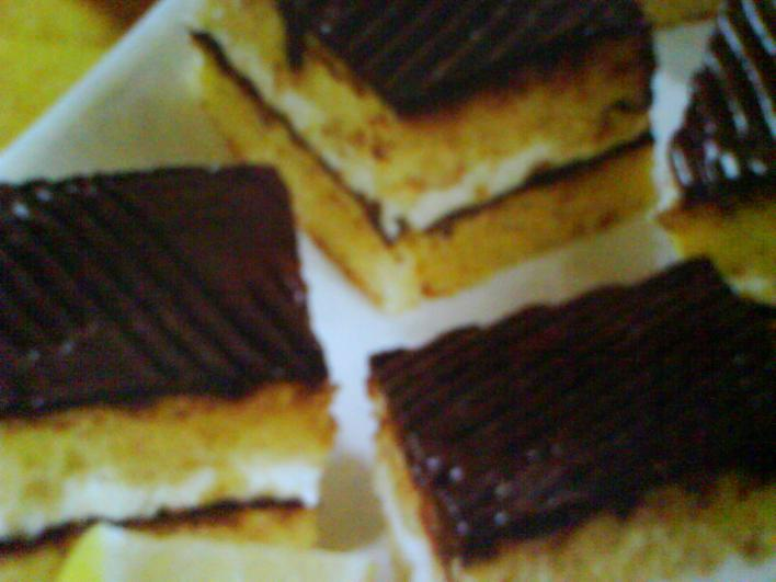 Csokimázas kocka