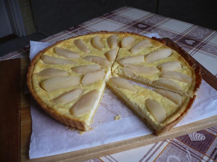 Körtés-túrós pite