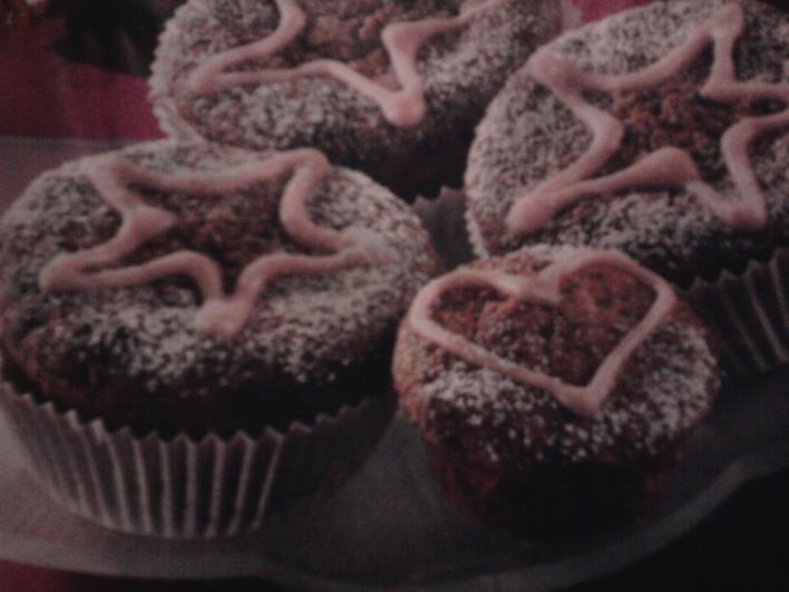 Forraltboros muffin karácsonyra