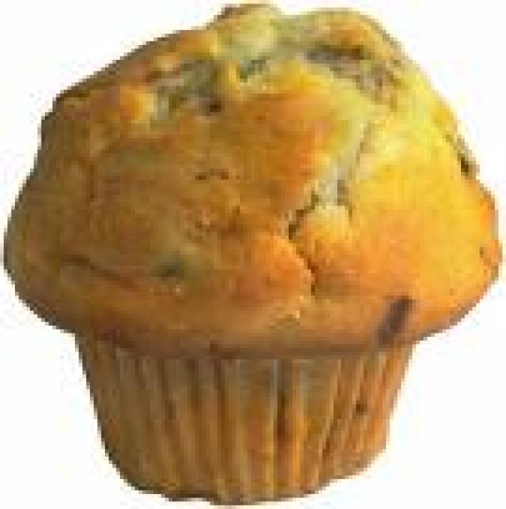 Diós-almás muffin