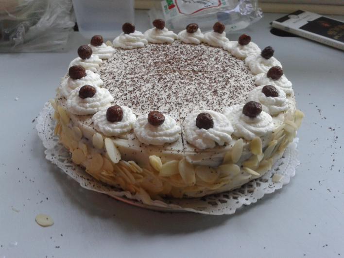 Mascarponés csokitorta