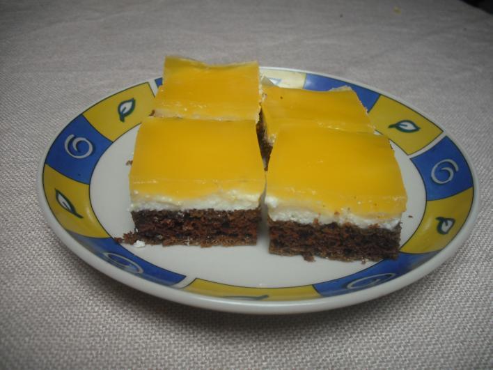 Üdítős süti - nagy mennyiségben