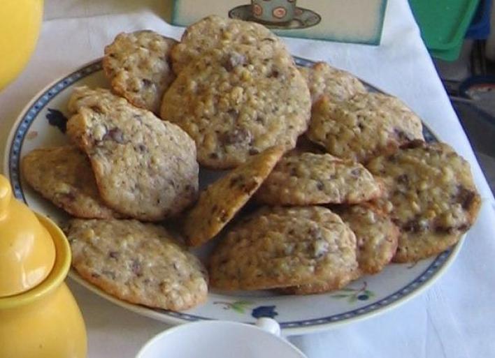 Csokis-kukoricapelyhes keksz