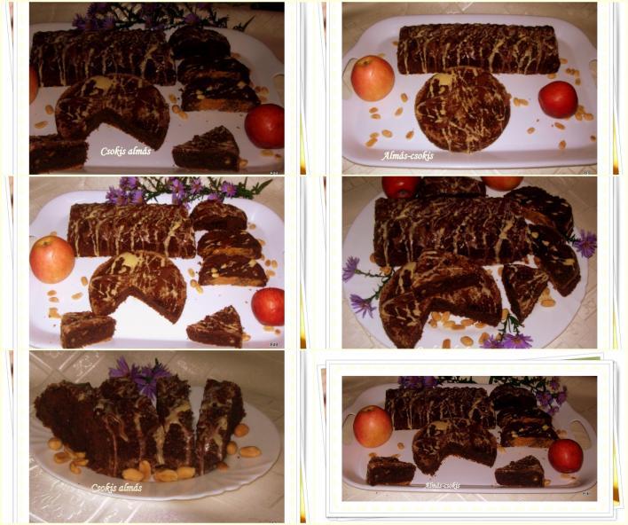 Almás csokis