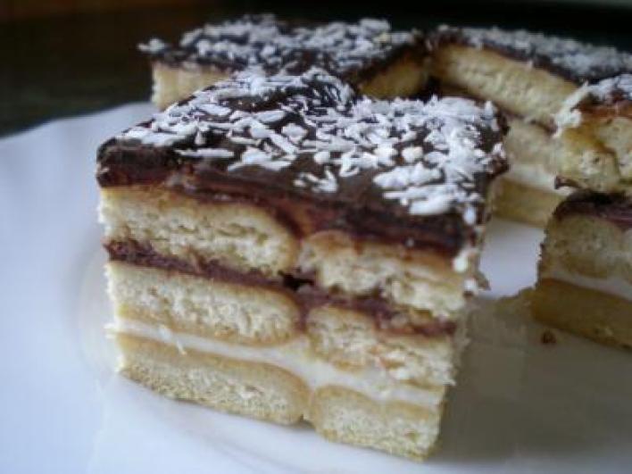 Csokis krémes süti sütés nélkül