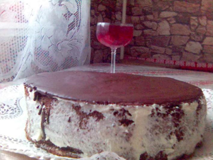 Kókuszkrém torta