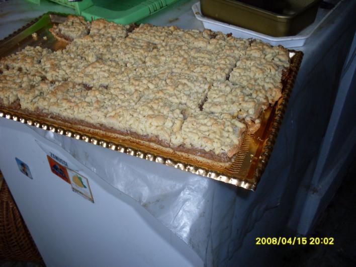 Almás-diós süti