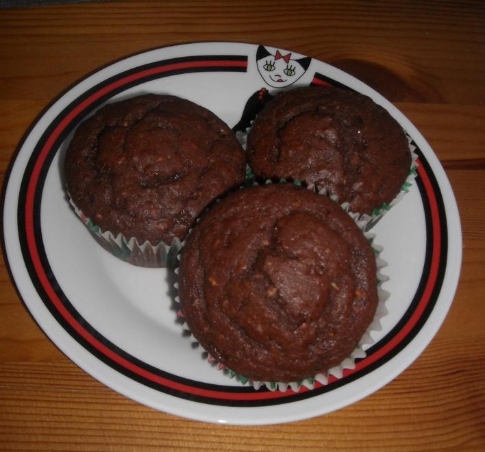 Update kakaós, kókuszos muffin