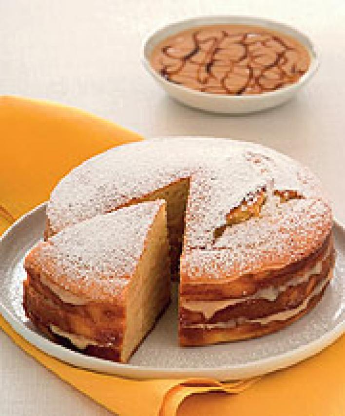 Joghurtkrémes torta