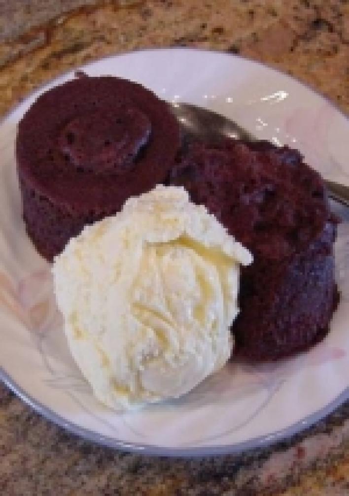 5 perces csokis süti