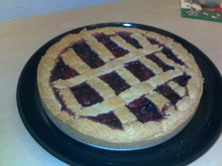 Amerikai gyümölcsös pite