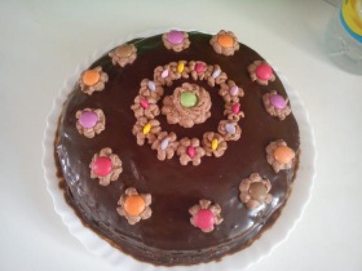 Csoki torta A la V.