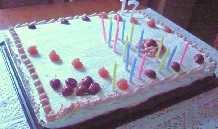 Meggykrémes torta