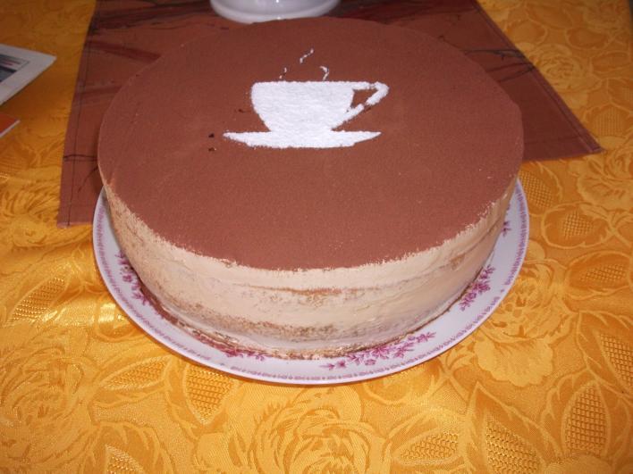 Capuccino torta