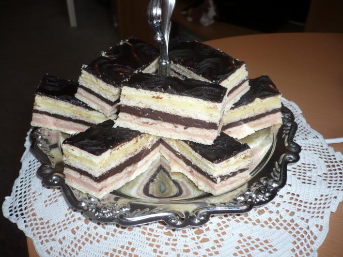 Négyszínű sütike