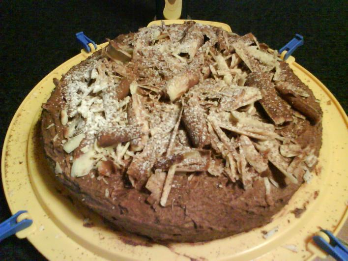 Csokoládés trüffeltorta