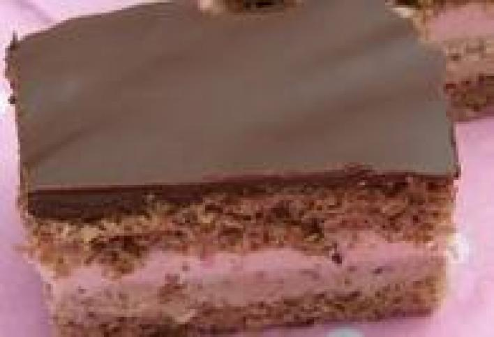 Csokis-puncsos szelet