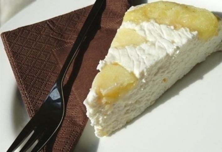 Almás túró torta