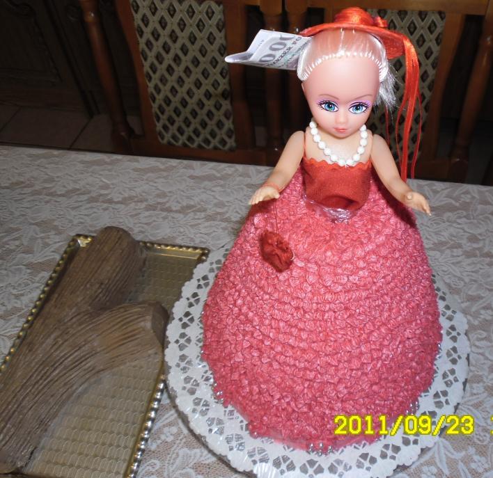 Menyasszony és menyecske torta