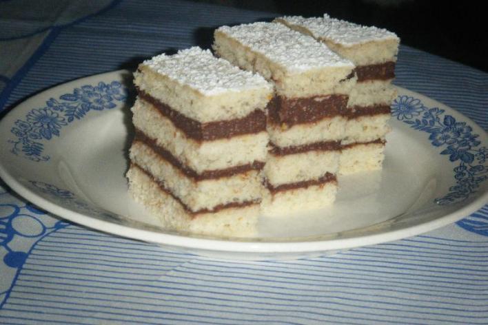 Négy lapos süti