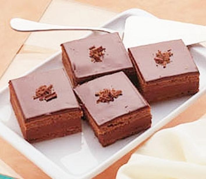 Fincsi csokis kocka