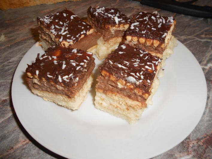 Tejbegrízes süti, sütés nélkül
