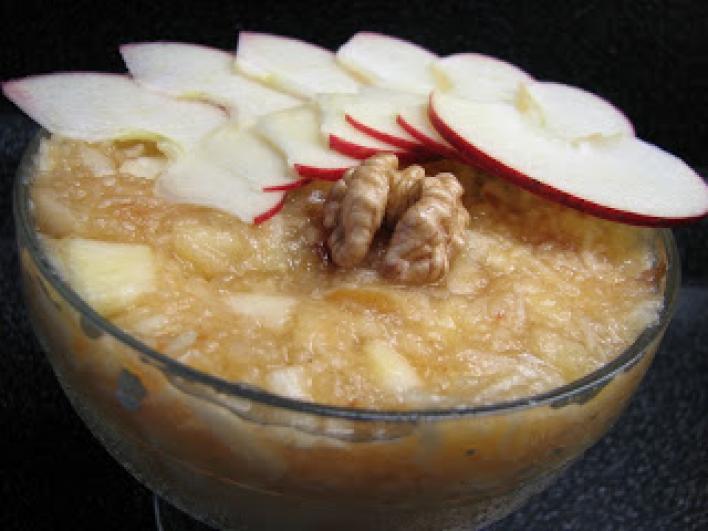 Sült almapuding
