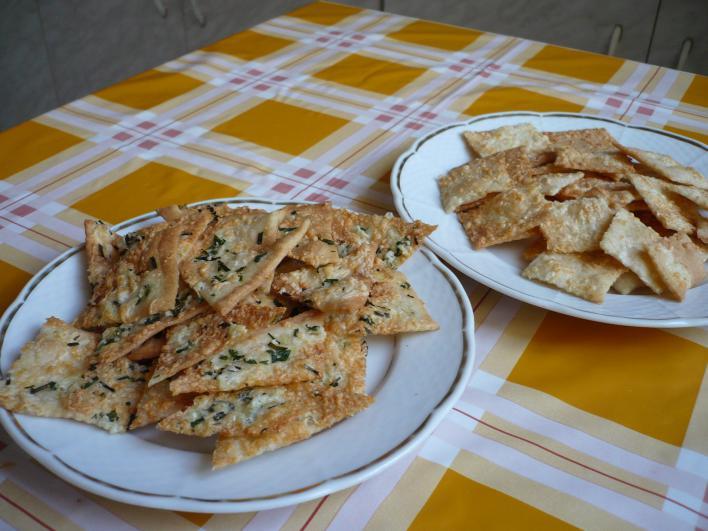 Ropogós kenyércsipsz