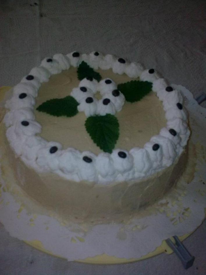 Kávés torta