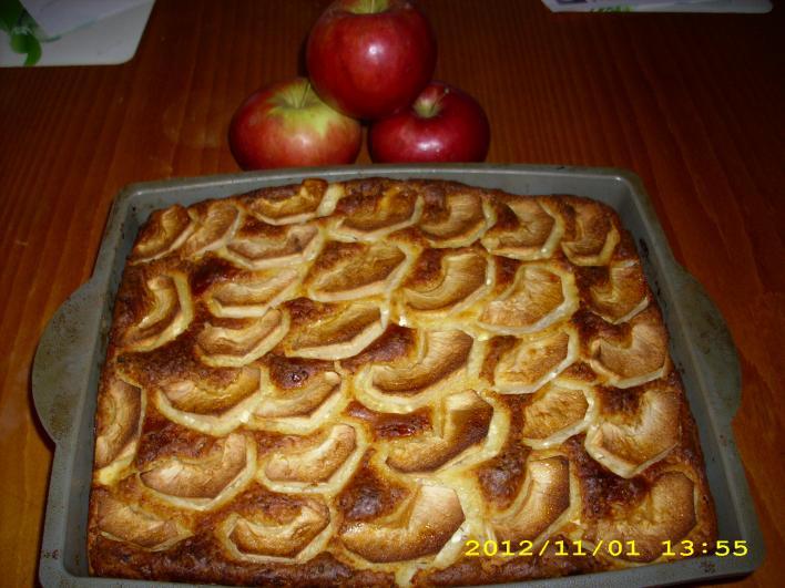 Kevert túrós almával (diabetikus)